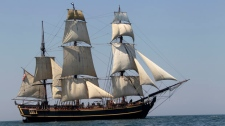 HMS Bounty sinks crew rescued Atlantic Ocean