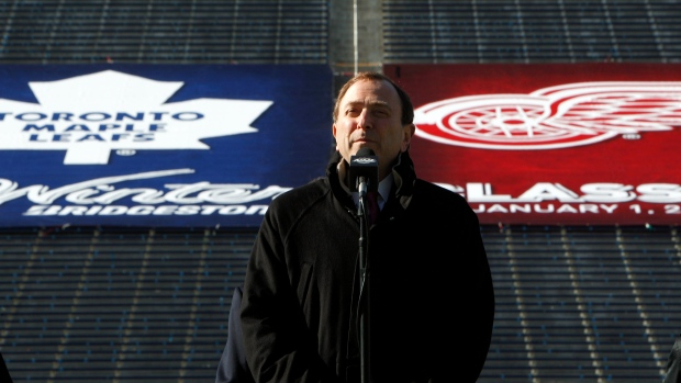 NHL hockey Winter Classic Toronto Detroit
