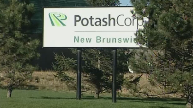 PotashCorp will permanently close the older of its two potash mining operations in New Brunswick in November.