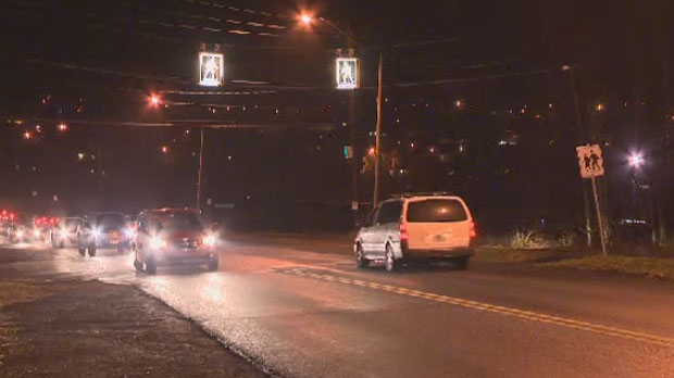 Police say the man was crossing Glendale Avenue at Raymond Drive when he was hit by a car.