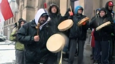 First Nations protest