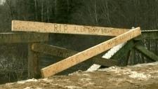 Memorial for 4 dead in N.B.