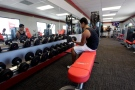 A customer works out at a Snap Fitness in this June 2012 file photo. (AP Photo/LM Otero)