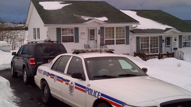 Police were back on the scene at the councillor's Martha Avenue home Thursday morning.