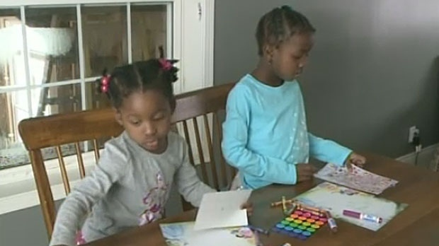 Haitian sisters