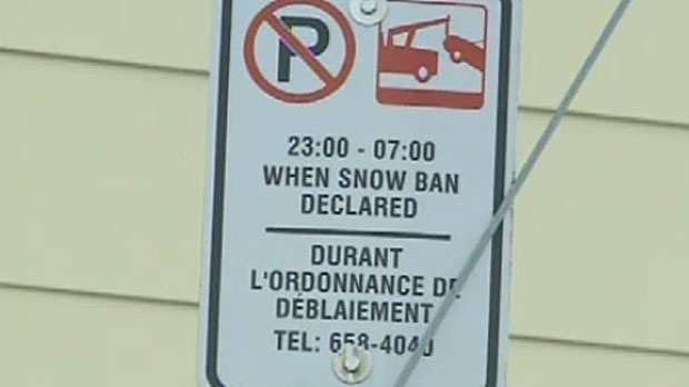 Saint John snow ban