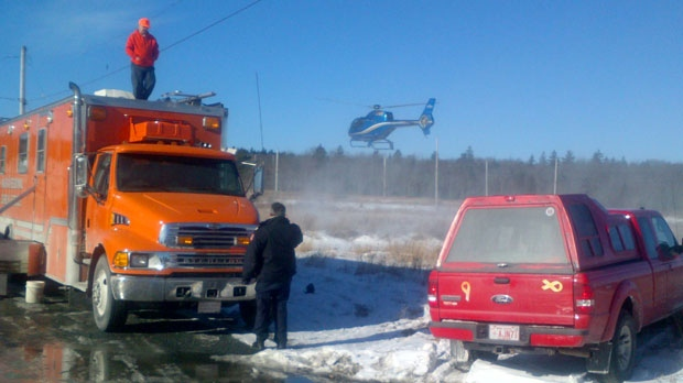 The search for a missing man has been called off in Beaver Bank, N.S. after police determined it was a hoax.