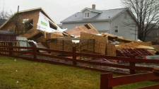 house blows over