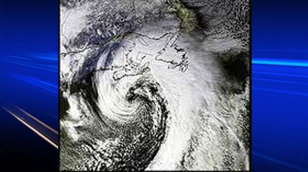 Satellite image of White Juan - Feb 2004