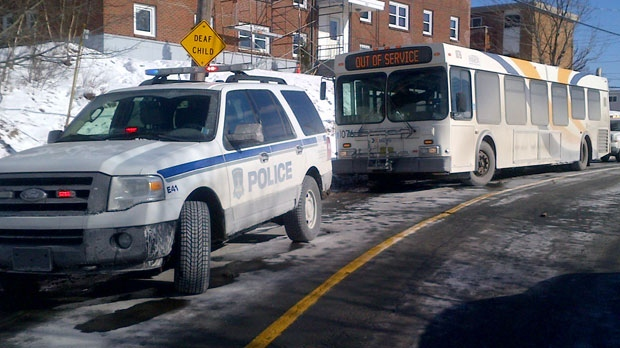 Police are investigating a shooting on a Metro Transit bus in Dartmouth.
