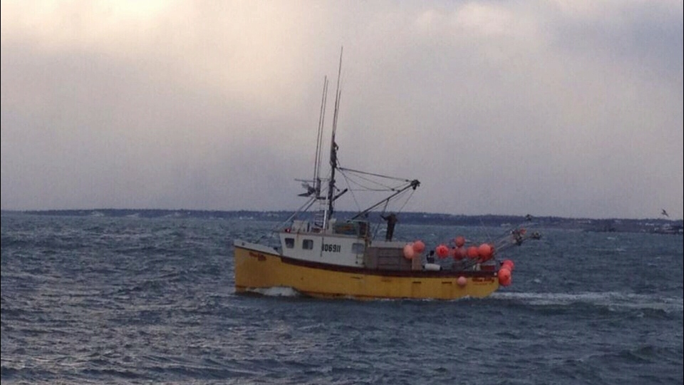 The search has been called off for five fishermen who went missing off the coast of Nova Scotia.