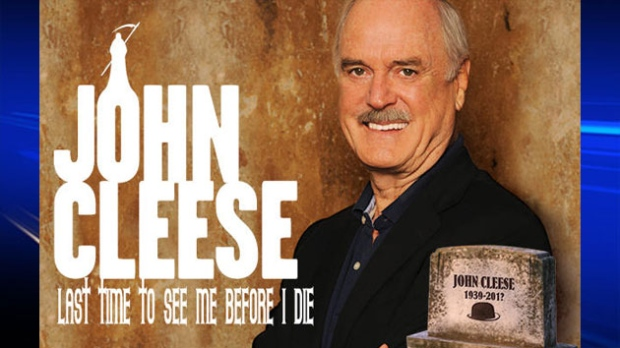 Johne Cleese is coming to the Maritimes