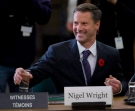 Nigel Wright, chief of staff for Prime Minister Stephen Harper, appears as a witness at the Standing Committee on Access to Information, Privacy and Ethics on Parliament Hill in Ottawa, Tuesday, Nov.2, 2010.  (Adrian Wyld / THE CANADIAN PRESS)
