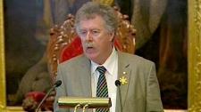 Transportation Minister Bill Estabrooks is seen on Friday, April 1, 2011.