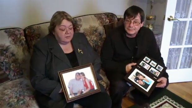 Patricia and Gerry Smits lost their only daughter, 19-year-old Angela Smits, in May 2004 when she was struck head-on by a drunk driver. (CTV Atlantic)