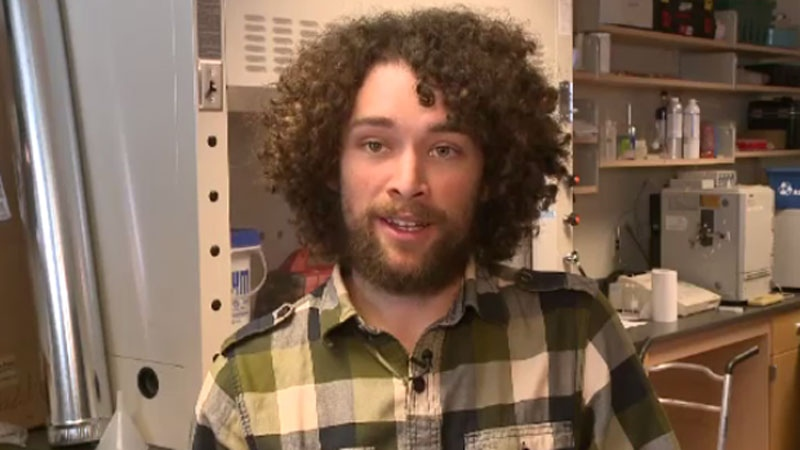 St. FX research student Chris MacIntyre was surprised to find the weather in Antarctica was warmer than in the Maritimes. (CTV Atlantic)