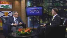 HRM Mayor Peter Kelly speaks to Steve Murphy on CTV News at 6:00 Wednesday.