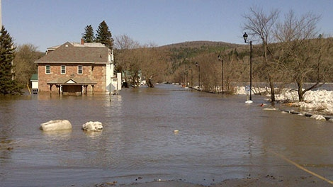 perth-andover, flooding
