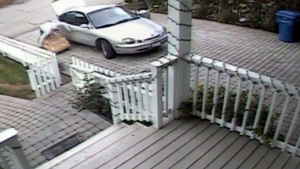 Man steals Christmas packages from porch