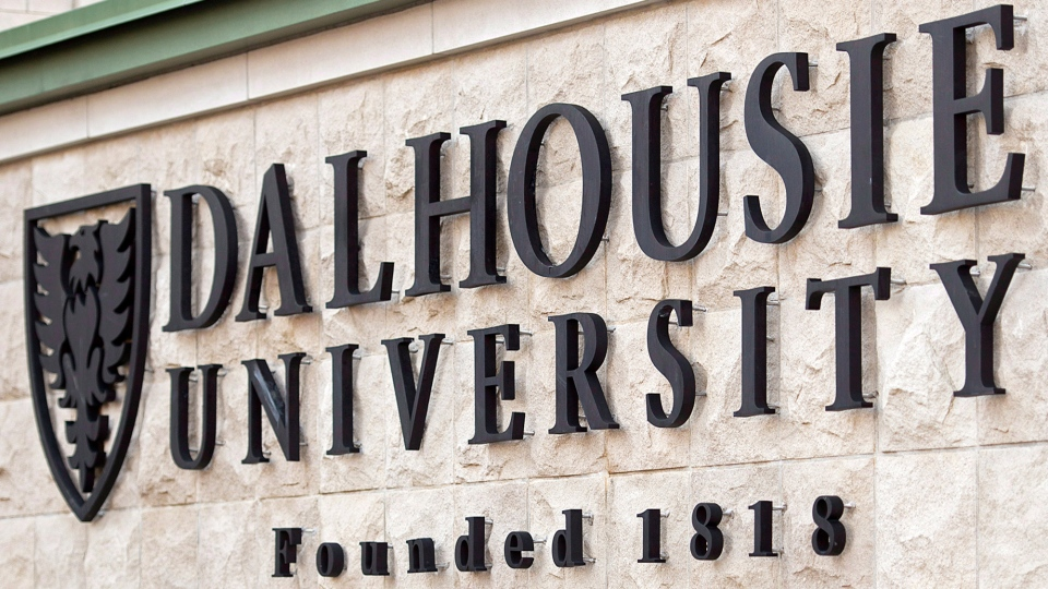 A Dalhousie University sign is seen in Halifax on Tuesday, Jan. 6, 2015. (Andrew Vaughan  / THE CANADIAN PRESS)