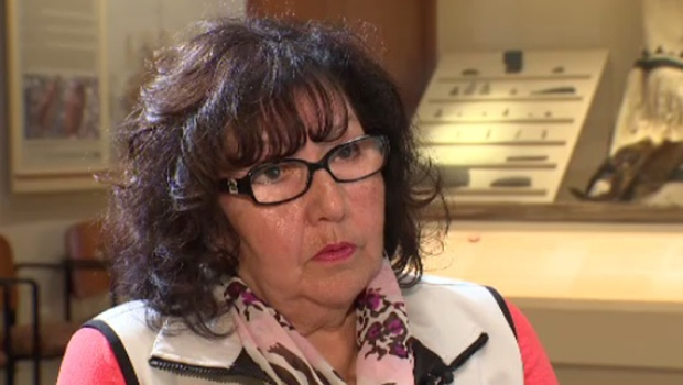 Linda Maloney of Millbrook, N.S. started at the Shubenacadie residential school at the age of five and stayed for 10 years.
