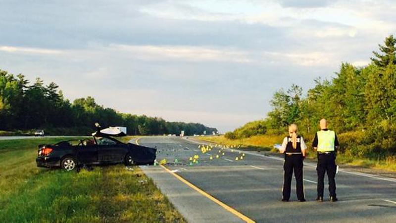 Highway 102 Crash Sends Two To Hospital Ctv Atlantic News