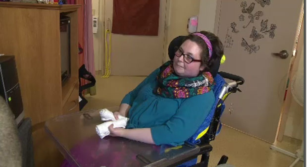 Adrienne DeYoung, 37, was diagnosed with multiple sclerosis four years ago.