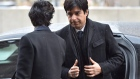 Former CBC radio host Jian Ghomeshi arrives at a Toronto court on Wednesday, Feb. 10, 2016. THE CANADIAN PRESS/Nathan Denette