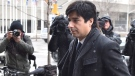 Former CBC radio host Jian Ghomeshi arrives at a Toronto court on Wednesday, Feb. 10, 2016. (Nathan Denette / THE CANADIAN PRESS)