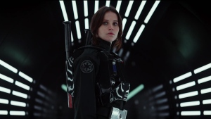 Felicity Jones is shown in this image from the trailer for 'Star Wars: Rogue One.' (Star Wars / YouTube)