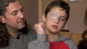 Alexandro's parents say they're considering legal action against the École François-La-Bernarde school.