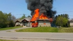 Greely house fire