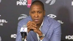 LIVE4: Toronto Raptors GM speaks to media