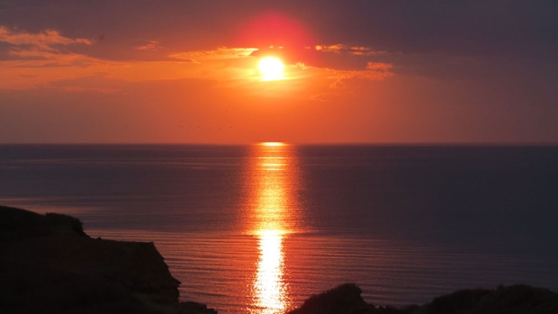 Bonnie Wheatley captured this amazing sunset from her cottage at Naufrage Harbour, PEI
