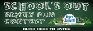 School's Out Family Fun Contest Button