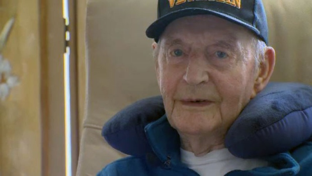 Petter Blindheim, a veteran of the Norwegian Royal Navy and merchant marine, could be admitted to the Camp Hill Veterans Memorial hospital as early as next week. (CTV Atlantic)