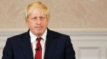 Former London mayor Boris Johnson announces he will not run for Britain's ruling Conservative Party in London, Thursday, June 30, 2016. (AP Photo/Matt Dunham)