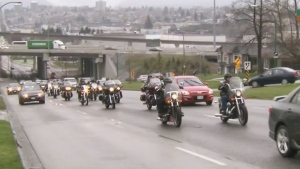 More than 700 Hells Angels members are expected to descend on Ottawa this weekend.
