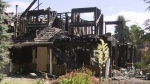 Massive house fire sparked from fallen BBQ