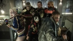 "In this image released by Warner Bros. Entertainment, cast members, clockwise from left, Margot Robbie, Adewale Akinnuoye-Agbaje, Joel Kinnaman, Will Smith, Jai Courtney and Karen Fukuhara appear in the film, ""Suicide Squad."" This week's Comic-Con is expected to draw more than 160,000 fans for high-energy sessions featuring casts and crews from such films and TV shows as ""Game of Thrones,"" ""Star Trek,"" ""Suicide Squad,"" ""South Park,"" ""Teen Wolf,"" ""Aliens"" and ""The Walking Dead.""(Clay Enos/Warner Bros. Entertainment via AP)"
