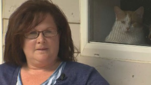 Jennifer Vaughn called police to complain after seeing a dog left unattended in a vehicle at her apartment complex last weekend. It turns out the dog belonged to the RCMP.