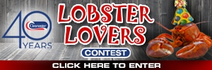 Lobster Lovers Contest button