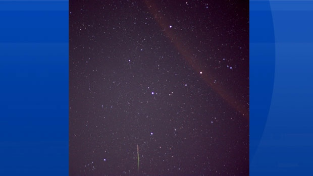 Michael Boschat captured this lovely meteor over Halifax last night.