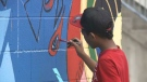 Many neighbourhoods in Saint John are getting a facelift as murals pop up in an effort to revitalize parts of the city.