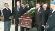 Elsie Wayne was laid to rest in Saint John on Saturday, Aug. 27, 2016