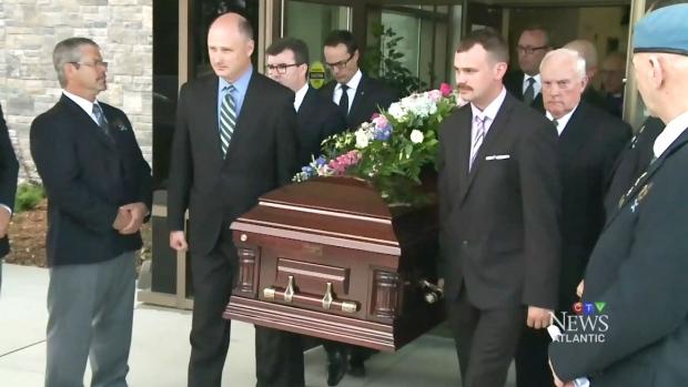 Elsie Wayne was laid to rest in Saint John on Saturday, Aug. 27, 2016