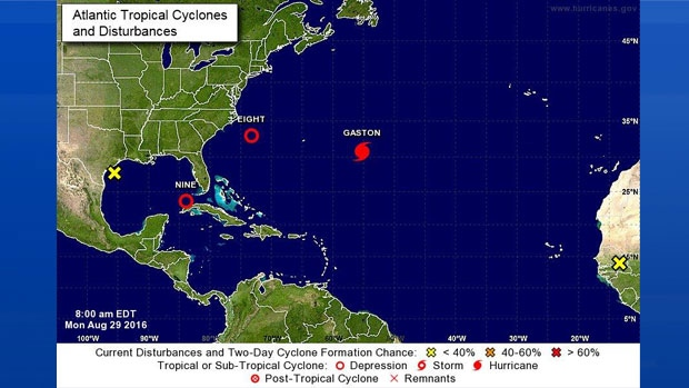 Not one, not two, but three tropical cyclones are churning in the Atlantic today!
