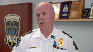 Bridgewater Police Chief John Collyer has confirmed to CTV News that he is under investigation for sexual assault.