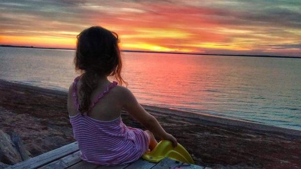 Saying good-bye to summer!  Gorgeous sunset along the Northumberland Straitl.  Photo taken by Jenn Robar