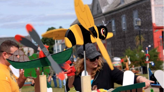 It's all the Buzz...the 17th annual Whirligig Festival is on this weekend in Shelburne NS!